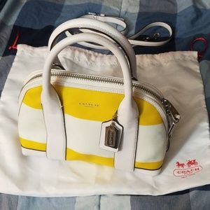 Spring Coach Handbag   Convertible shoulder Bag